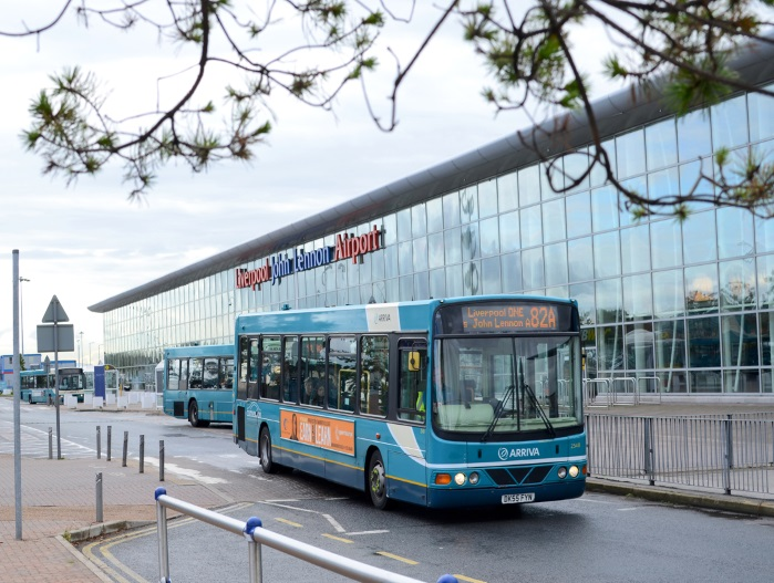 Getting to and from the airport Liverpool Airport