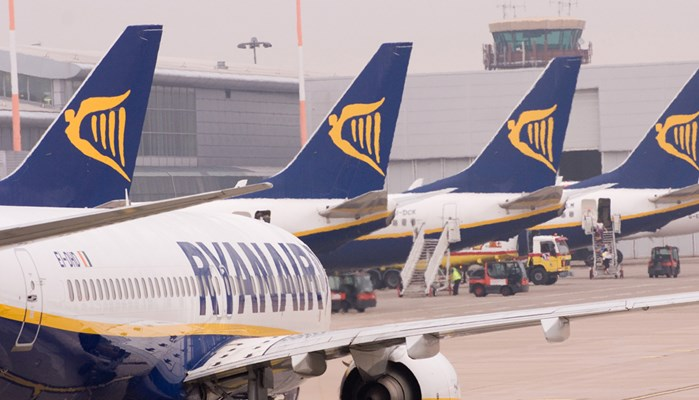 Ryanair Flights To From Liverpool John Lennon Airport
