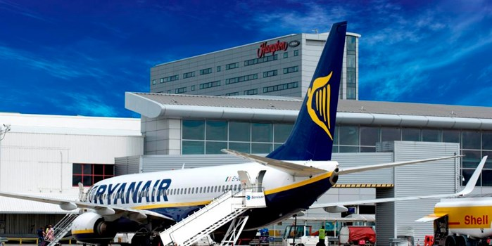 Ryanair at Liverpool John Lennon Airport