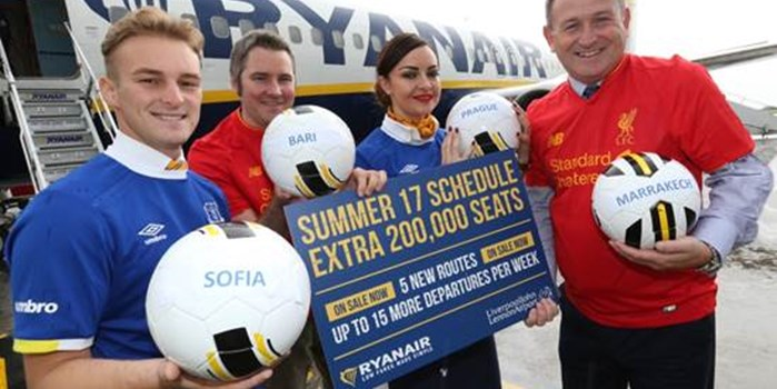 Ryanair Summer 17 launch
