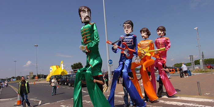 web directory - beatles puppets