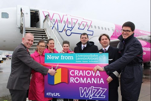Wizz Air Craiova Launch