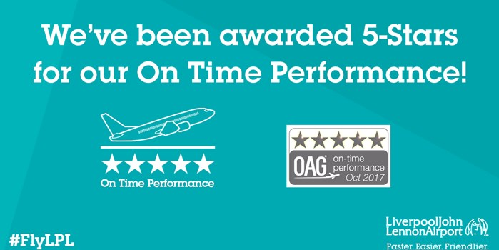 On time performance award