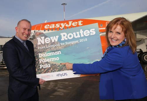 easyJet launch three new services