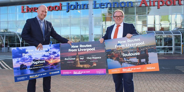 Start of the Winter Season sees  5 new routes launched at LJLA